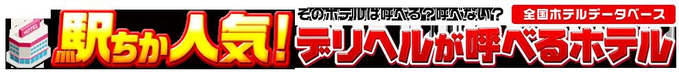 日本全国の人気デリヘルが呼べるホテルデータベース[駅ちか]人気デリヘルが呼べるホテル情報&検索