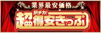 業界最安価格 駅ちか!超得安きっぷ
